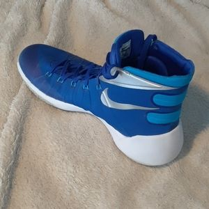 Nike HyperDunk 2015 Blue/silver/white like NEW